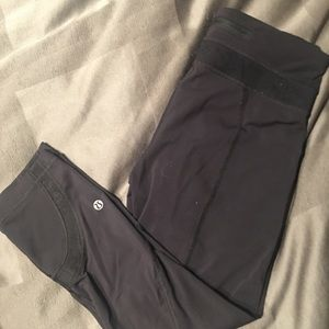 Lululemon Black Lace Leggings